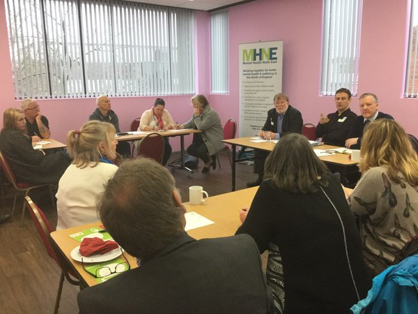Kevan attends MHNE Event