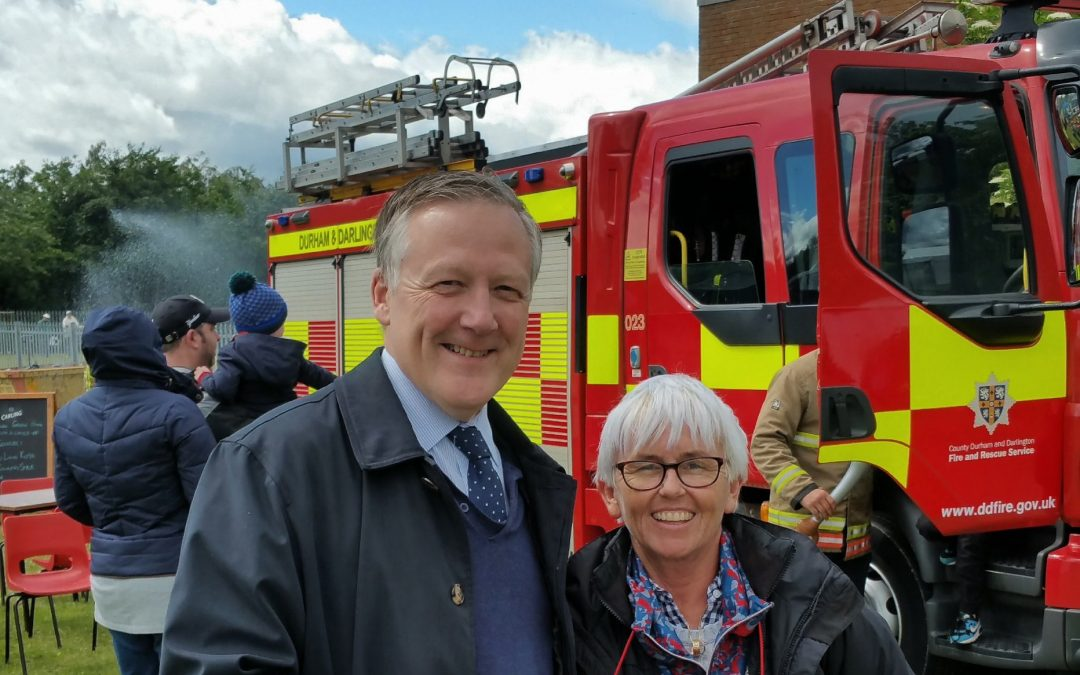 Kevan attends Great Lumley Festival