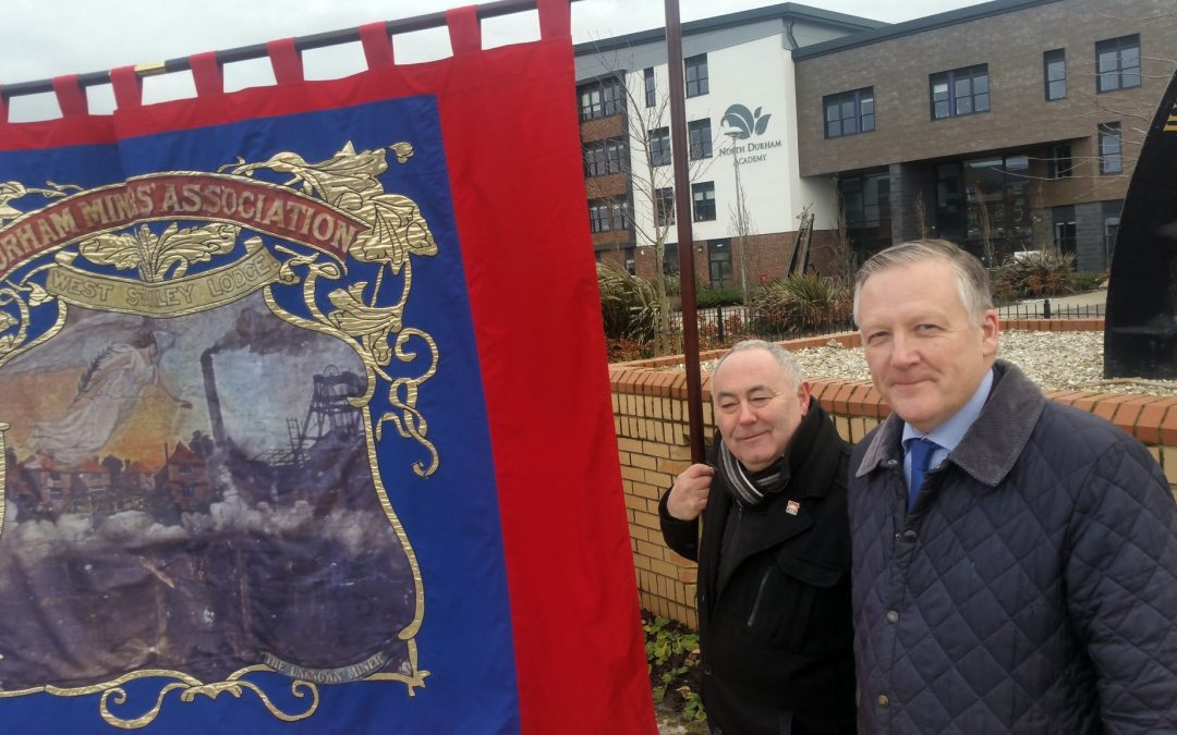 Kevan attends West Stanley Pit Disaster Remembrance Ceremony