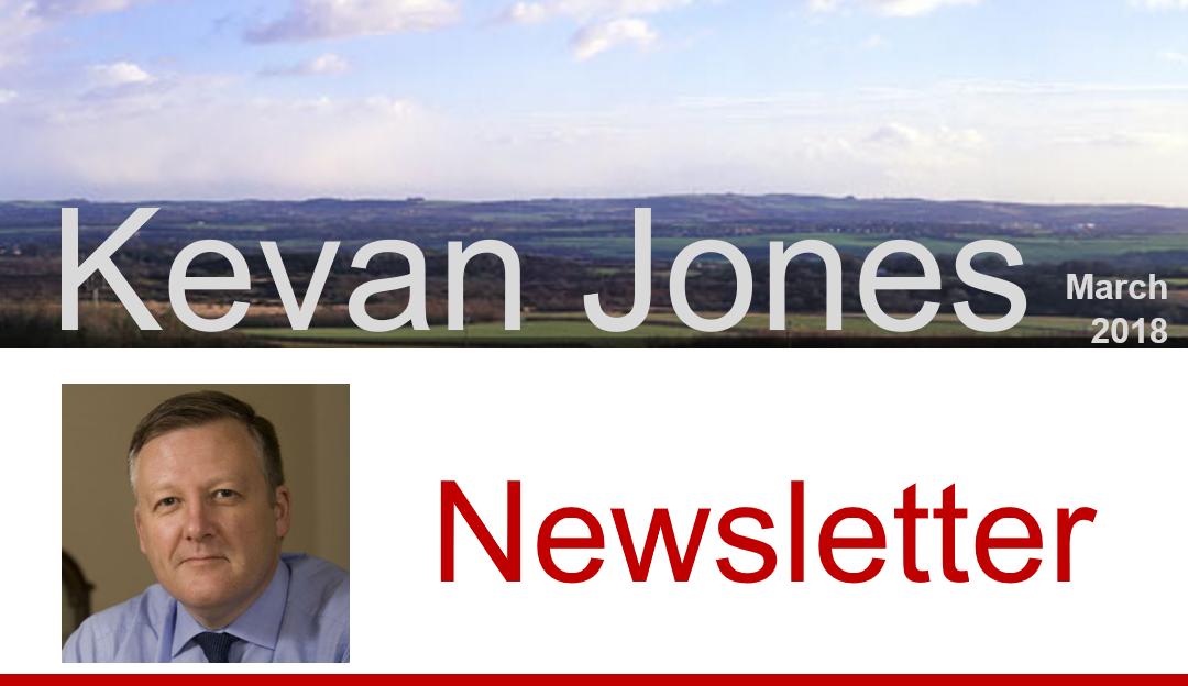 Read Kevan's latest Newsletter
