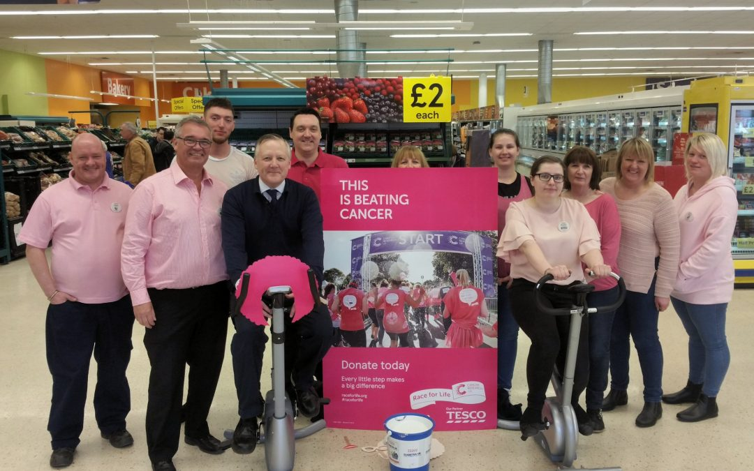 Kevan encourages constituents to support Cancer Research UK's Race for Life