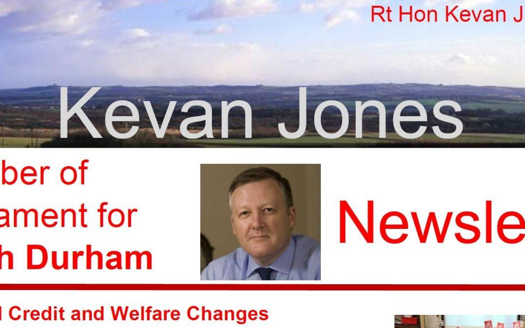 Read Kevan's Newsletter
