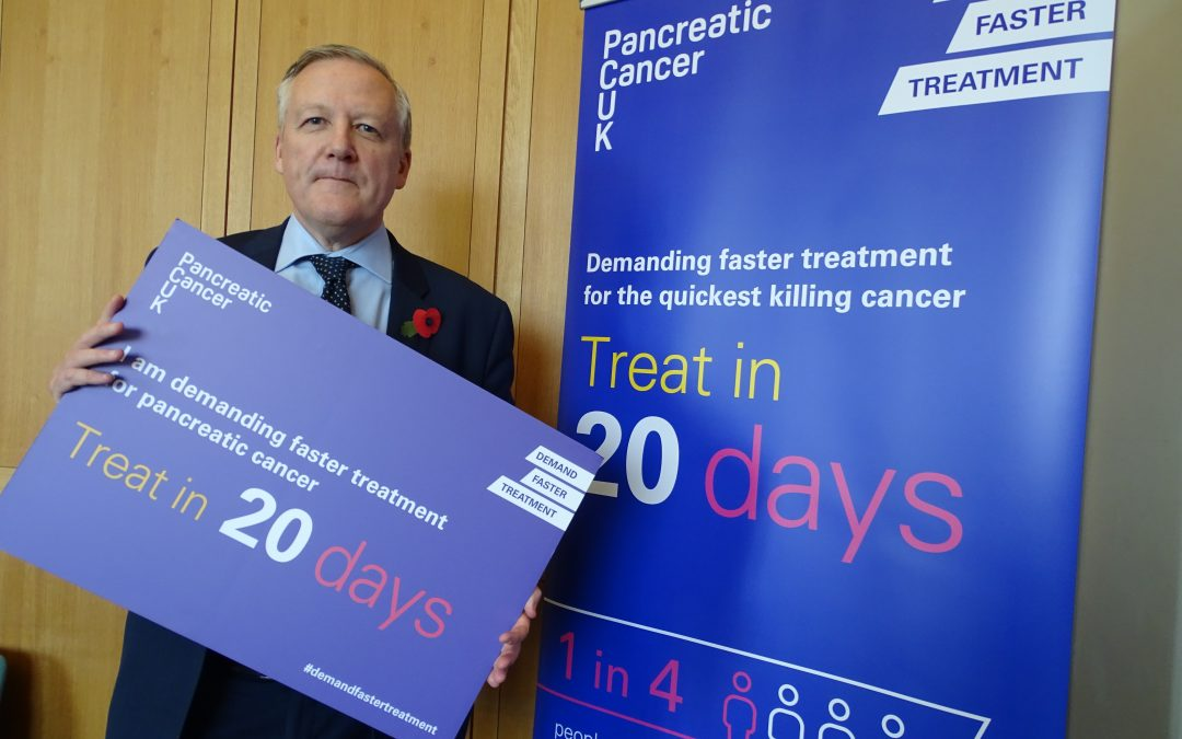 North Durham MP backs campaign for faster treatment for people with quickest killing cancer
