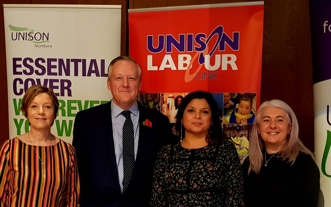 Kevan attended Unison's Regional Conference