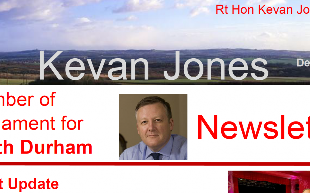 Read Kevan's Newsletter