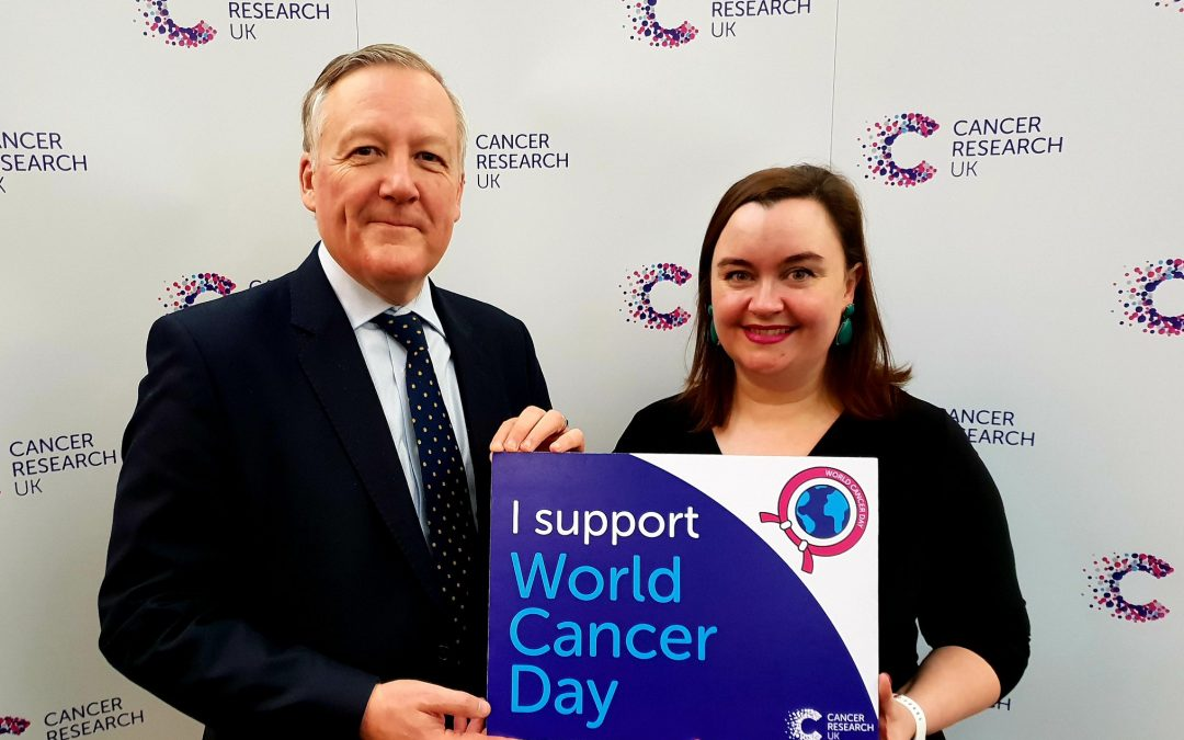 Kevan supporting Cancer Research UK