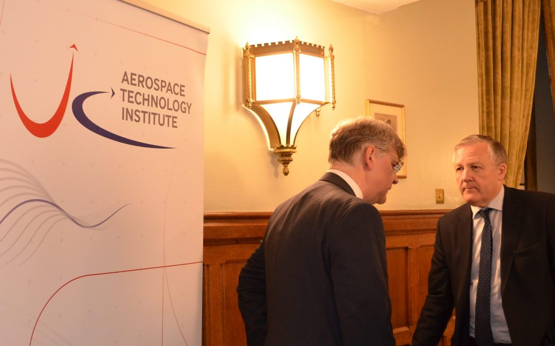 Kevan attends Aerospace Event in Parliament