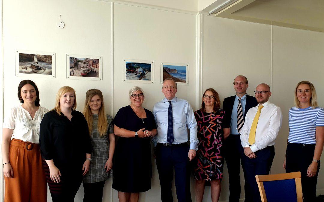 Kevan visits Think Ahead Programme