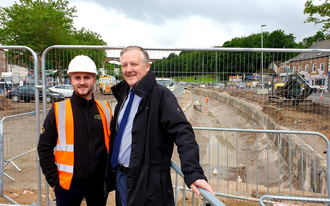 Work Progressing on Flood Prevention Scheme in Chester-le-Street