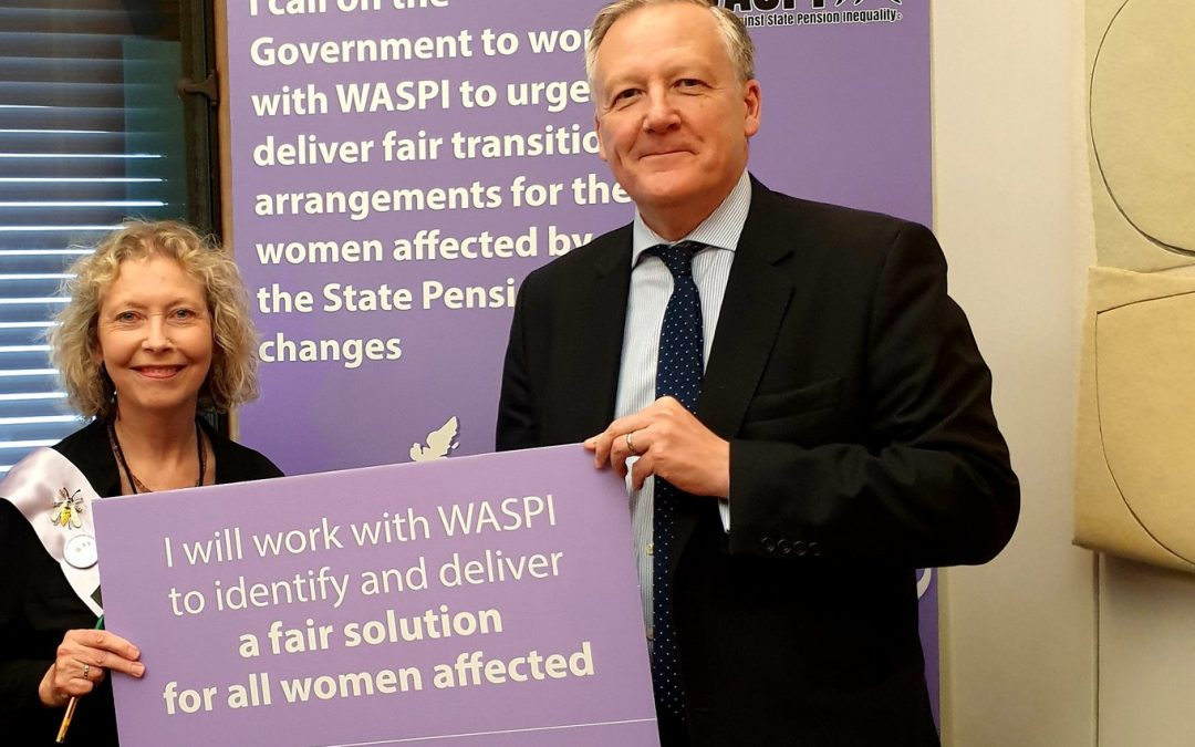 Kevan Supports the WASPI Campaign