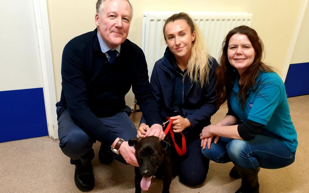 Kevan attends RSPCA event at Felledge Animal Centre
