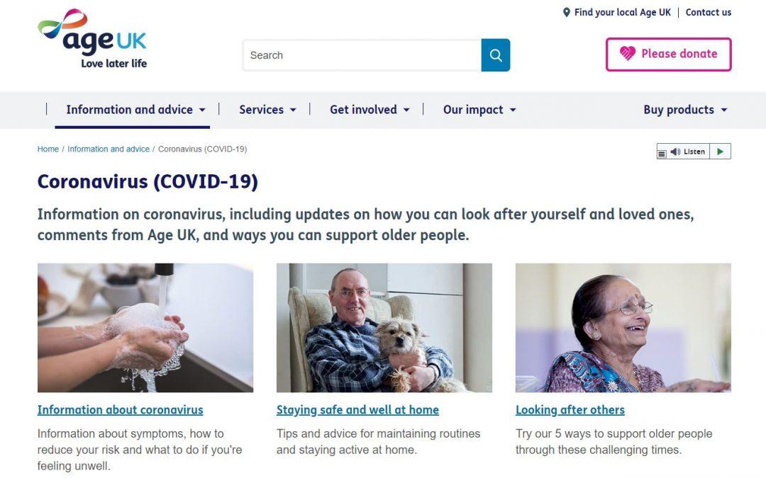 Age UK Update