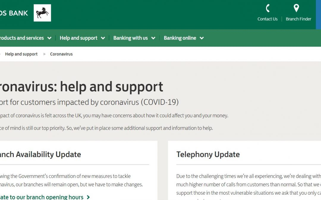 UPDATE 6 April – Lloyds Banking Group Update