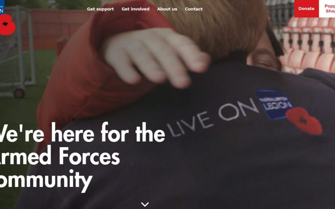 The Royal British Legion – Supporting the Armed Forces Community