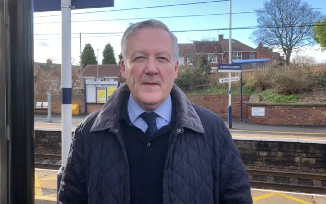 Kevan welcomes proposals for additional train services for Chester-le-Street